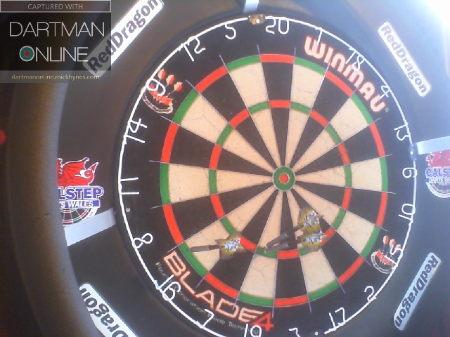 146 checkout hit against Ras