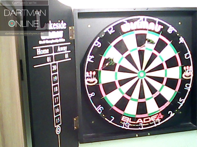 88 checkout hit against Muin