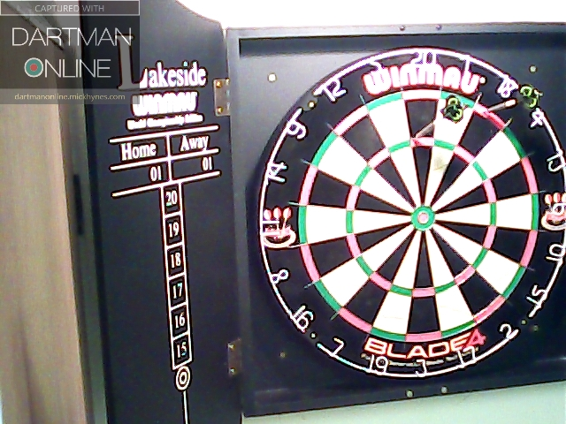 96 checkout hit against MagicMan