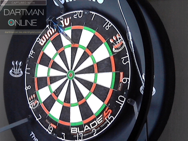 180 hit against ChrisWard