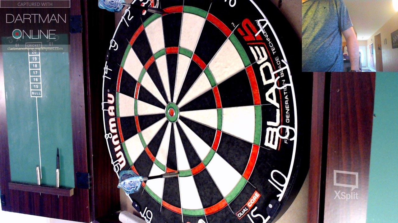 91 checkout hit against TheMixer180