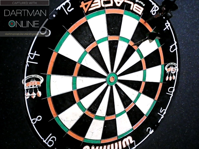 90 checkout hit against MR180