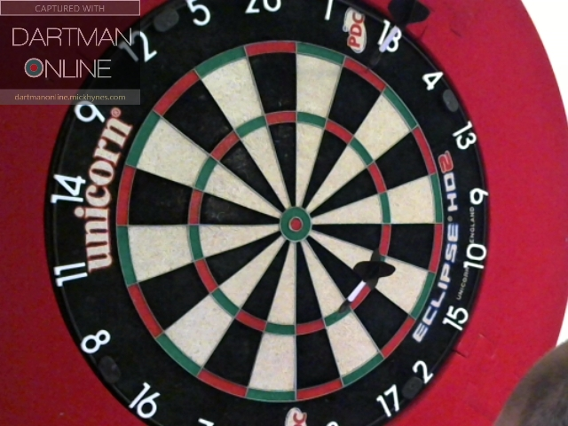 87 checkout hit against UdoKrone