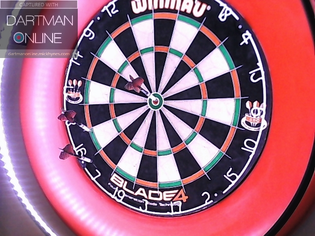 82 checkout hit against kruger8513
