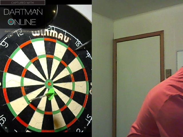 84 checkout hit against DartWoman