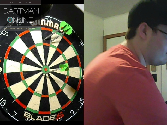 130 checkout hit against DartWoman
