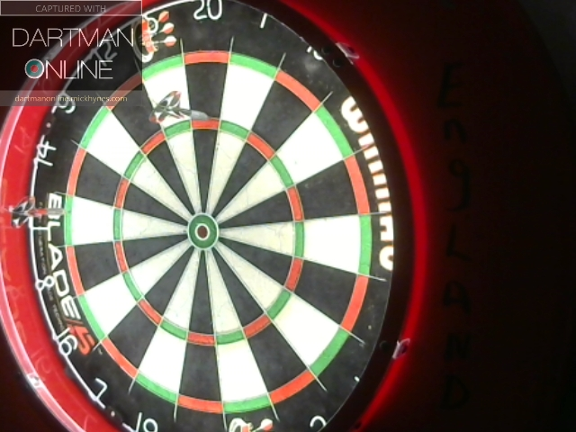 82 checkout hit against MagicMan