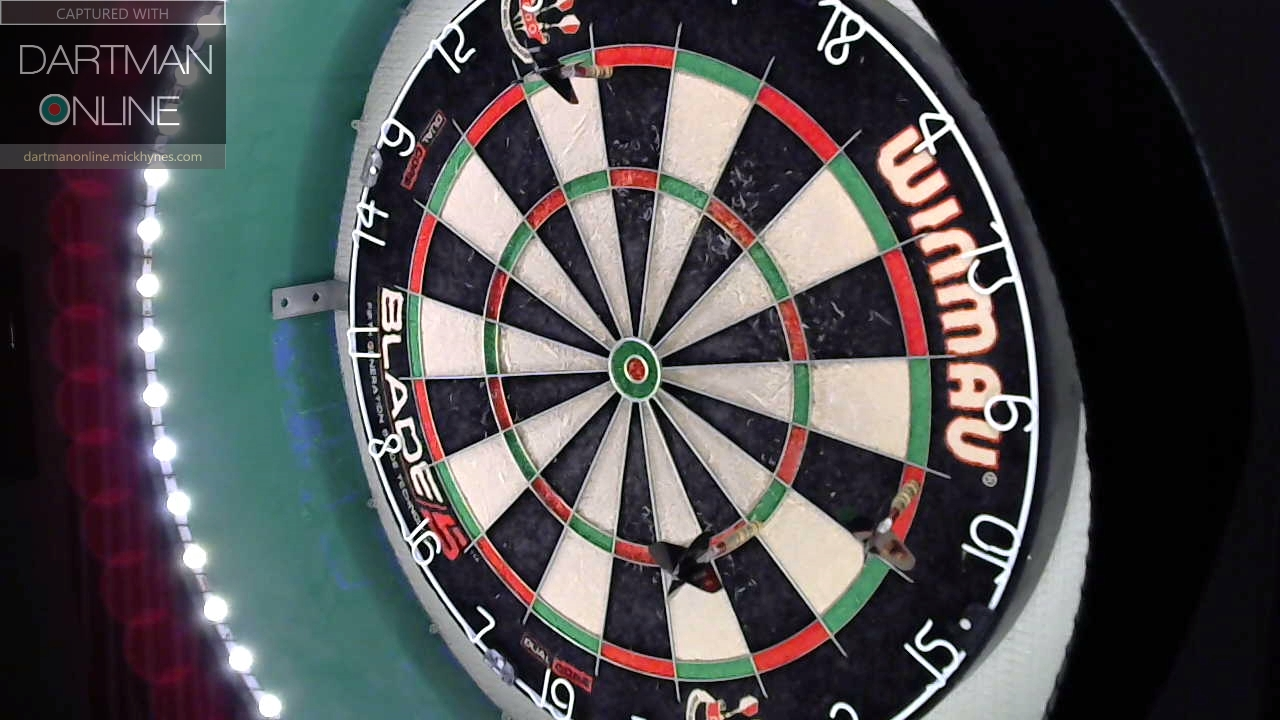 85 checkout hit against romanbzh35
