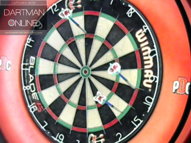 110 checkout hit against thomaspeacock