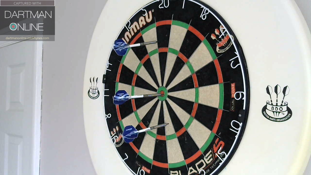 87 checkout hit against jake170