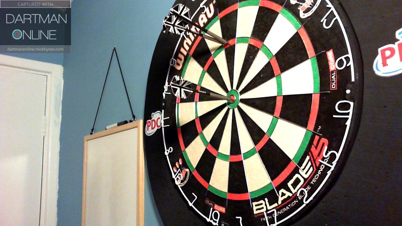 170 checkout hit against Onfire