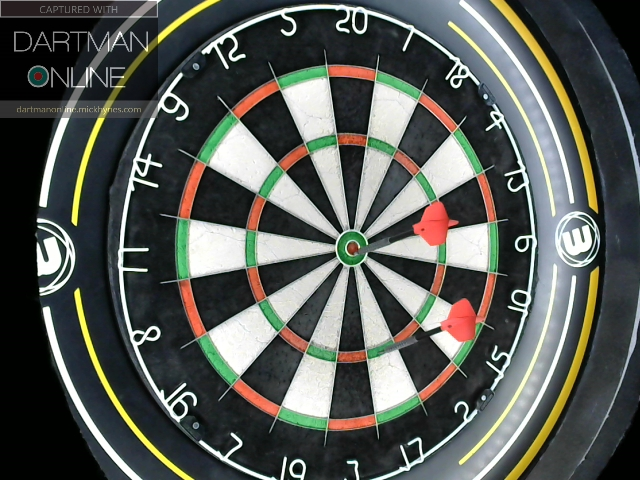 101 checkout hit against DaleRobertson