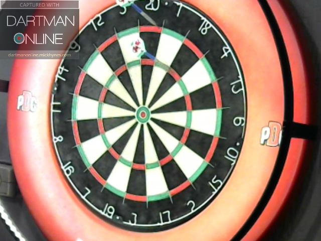 94 checkout hit against Veni