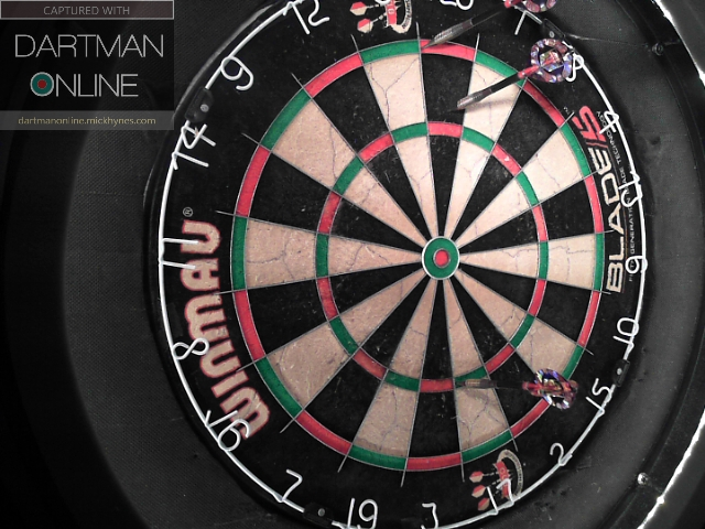 111 checkout hit against Lastdart-deano