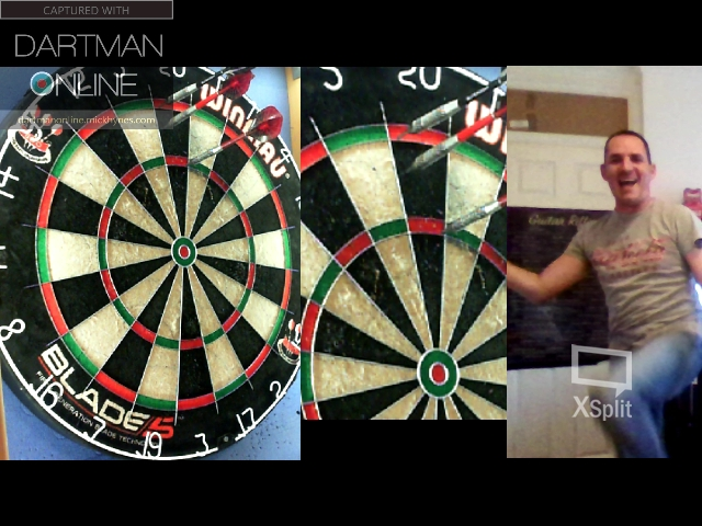 120 checkout hit against andyabs