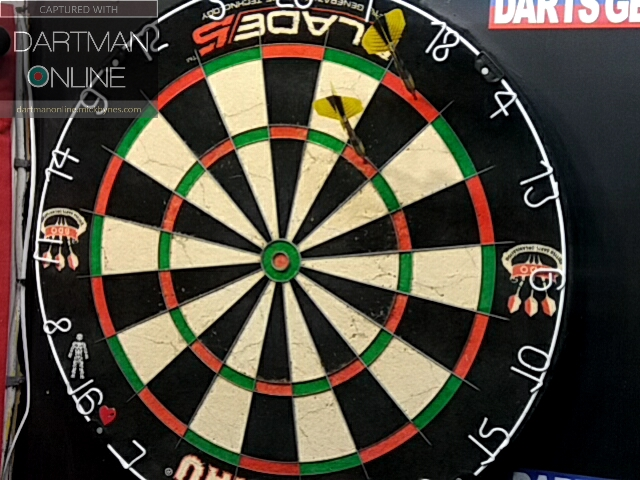 90 checkout hit against goliath