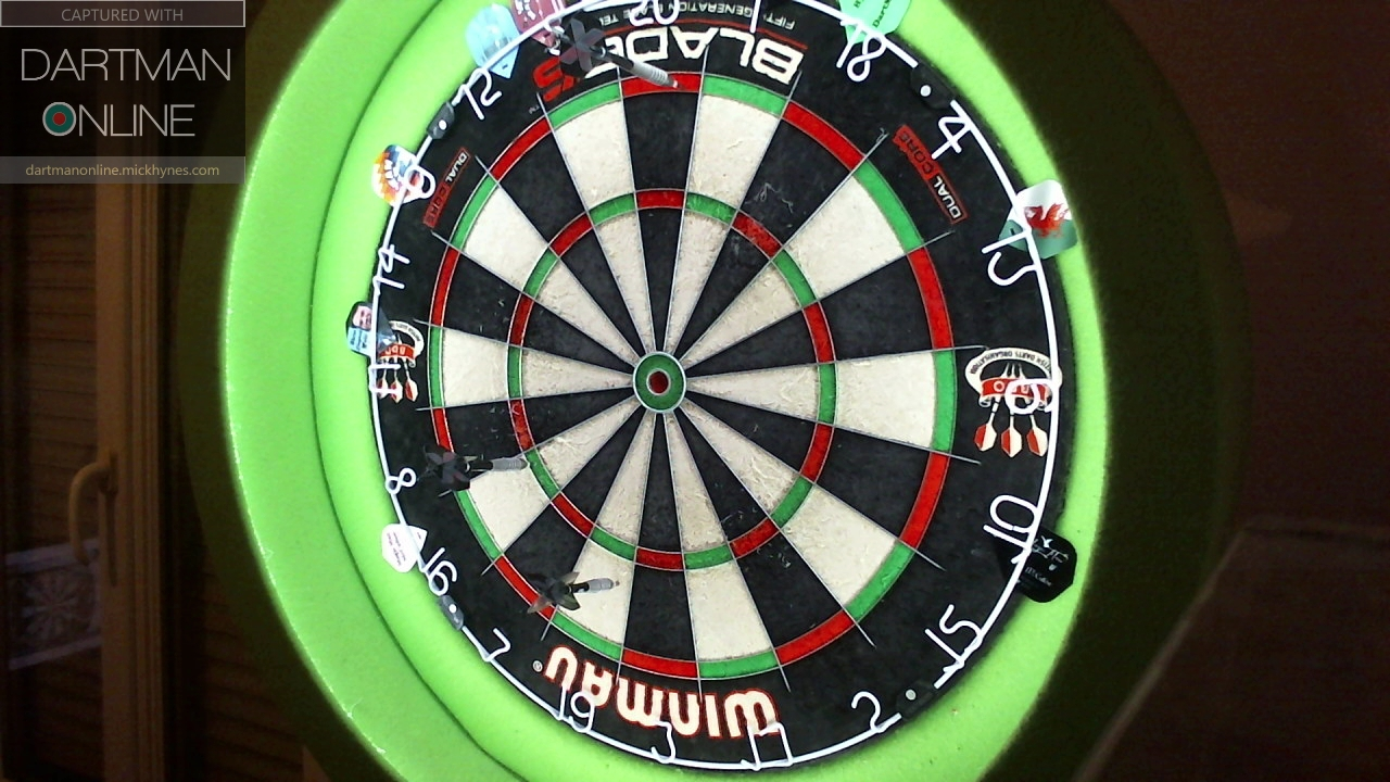 107 checkout hit against THE_DON