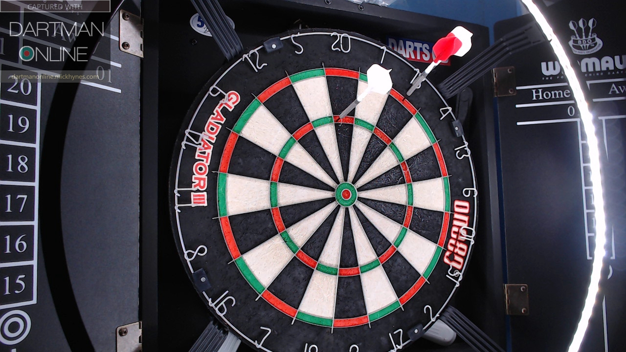 96 checkout hit against Pecky180